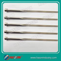 مسمار الطارد المسطح DIN ISO 8693 مع مشع رباعي الأركان للمكونات البلاستيكية المشفطة الحديد الصلب 1.2210 أو ما شابه