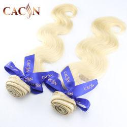 Raw rubia de 30 pulgadas trama chino sintético no chicas hermosas Virgen cabello humano.