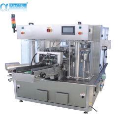 자동적인 회전하는 향낭 물 또는 채운 및 밀봉 패킹 (AP 8BT 이중) 포장 또는 포장 기계를 만드는 분말 또는 종이 봉지