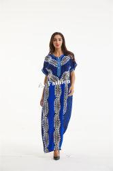 Afrikanischer Kaftan der neueste Form-afrikanischen Frauen plus Größen-Kleid-Aktien