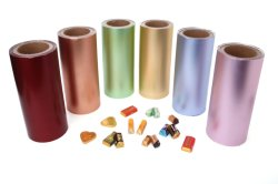 Bunte Aluminiumfolie für das Verpacken der Lebensmittel und das Schokoladen-Verpacken