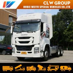 La máquina motriz japonesa pesados camiones cabeza Giga 460HP 420HP 350CV 6X4 4X2 no utilizaron nuevas Isuzu HOWO Tractor remolque FAW Truck precio de fábrica