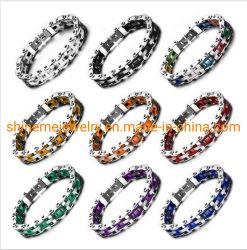 Bijoux en acier inoxydable de qualité supérieure en acier inoxydable bracelet Bracelet en silicone de chaîne de vélo Men's BraceletBL2921