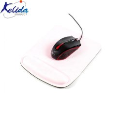 Mejor Venta de muestra gratis Custom alfombrilla para ratón rectángulo de goma espuma de memoria Reposamuñecas de almohadilla de ratón alfombrilla de ratón soporte