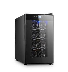 Il vetro Tempered indipendente Atuo-Disgela frigorifero del dispositivo di raffreddamento di vino delle bottiglie del portello 8 il mini
