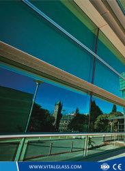 En ligne de haute qualité contrôle solaire de 4 mm de verre réfléchissant-6mm