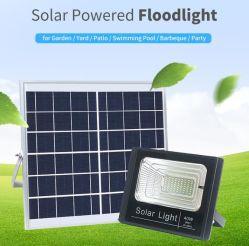 Lampadina solare dell'indicatore luminoso di via LED della lampada del LED del sistema solare di inondazione dell'indicatore luminoso degli indicatori luminosi impermeabili solari chiari di telecomando LED