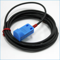 Sensor do interruptor de proximidade de quadrados de três fios de DC 24V Sensor PNP NPN Normalmente Aberto
