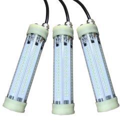 LED de fábrica Luz Pesca 200W Lulas Subaquático Pesca noturna luz LED verde