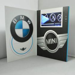 Pantalla LCD de 10 pulgadas para el coche de la tarjeta de video advertising