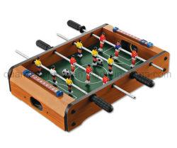 O OEM mini piscina brinquedos de madeira matraquilhos futebol de mesa de futebol