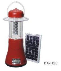 A Solar pequena lâmpada Camping Furacão multifuncional