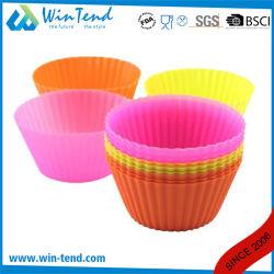 Heißes Bescheinigungs-Backen-Silikon-Minihauch-Kuchen-Form des Verkaufs-LFGB