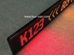 RS485/USB/LED de barramento de prefixo fixa sem fio da Rota para destinos/Próxima estação