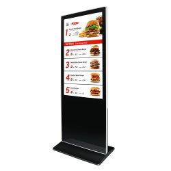 Van verschillende media van de Duim van Aiyos Freestanding 55 LCD Digitale Signage Vertoning van de Reclame