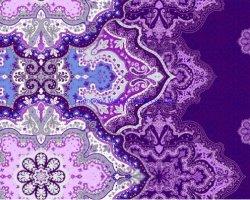 Gli strati, esportazione della tessile, hanno stampato il tessuto lavato del poliestere del cotone, disegno di stampaggio di tessuti