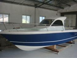 Boot van de Motor van de Snelheid van de Visserij van de Cabine van de Glasvezel van Grandsea 27FT/8.3m de Halve voor Hete Verkoop