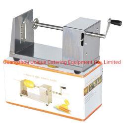 ステンレス鋼の手操作の小さいトルネードポテトのカッターHsp-01