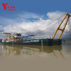 5000m3/H draga de succión Cortadora de arena/Dragar/Envío/máquina de dragado/ Barco/buques de arrastre/barro