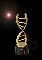 Элегантный универсальный металл Award с рельефным логотипом для церемонии с помощью