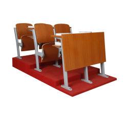 حديث خشبيّة [سكهوول فورنيتثر] [لكتثر هلّ] /Auditorium يدرّب كرسي تثبيت مع [وريتينغ دسك]