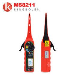 Ms8211 Circuit électrique de puissance Testeur numérique multifonction multimètre électrique automobile Auto lampe détecteur LCD de réparation de voiture