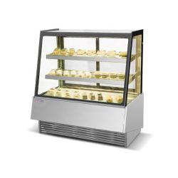 acero inoxidable baratos armario pastel refrigerado
