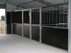 3,6 m 4 m en gemakkelijk te verplaatsen Advantage Portable Horse Stabiel te koop (XMR93)