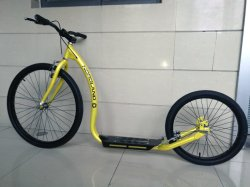 "Adulto grande roda Kick Bike 26 "" Roda Dianteira*20' da Roda Traseira"
