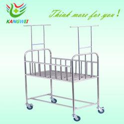 Base infantile medica dell'acciaio inossidabile di bambino di &Trolley appena nato della base