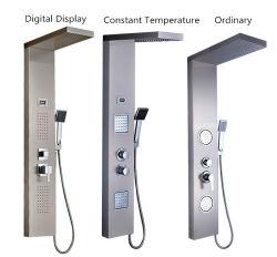 O display digital multifunções para montagem de banho a temperatura constante do Painel de duche