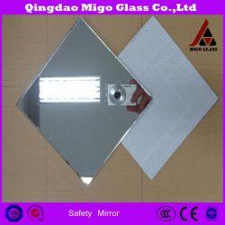 Miroir de sécurité en verre avec CAT I & Cat II film vinyle / Silver Miroir, miroir en aluminium
