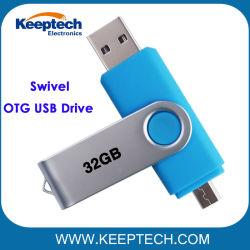 Высокое качество OTG флэш-накопитель USB 32 ГБ реальные возможности для Android телефонов и ПК