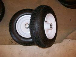 """Ruedas de caucho de neumáticos de bajo precio con alta calidad (16""""*4.50-8)"""