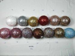 Festa festas em casa decorações Árvore de Natal travando a esfera de Natal de vidro