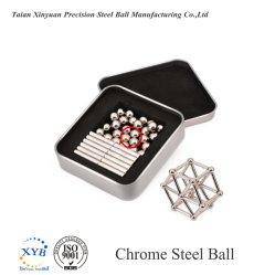"""13/64"""" 5.159mm 52100 ostentando as esferas de aço para a válvula do rolamento de precisão Cvj"""