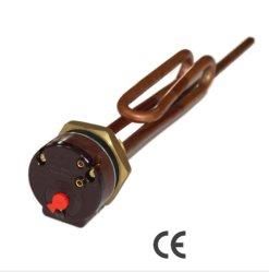Brida eléctrico Sensor de temperatura del calentador de agua de cobre de elemento de calefacción