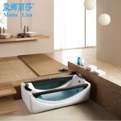 贅沢で青いカラー浴室の家具の渦の鉱泉の浴槽(M-2045)