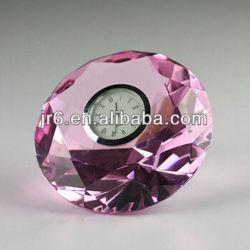Kristallen glazen Diamond Crystal klok