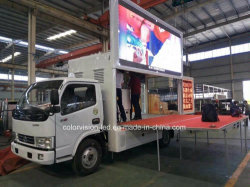 Foton Lifting P10/P8/P6/P4,81 LED-Bildschirm-Anzeige Mobile Reklametafel Bühne LKW Werbung zum Verkauf