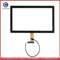 21.5 pulgadas de G+G USB con pantalla táctil capacitiva multitáctil para monitores