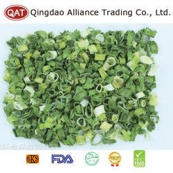 Déshydratés dés oignon vert pour l'exportation