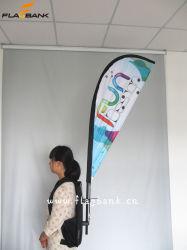 Impresión Digital Publicidad exterior que enarbolan la bandera/mochila bandera/Bandera Lágrima