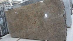 OroAmarillo de cristal pulido Peacock losa mosaico granito