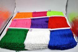 Commerce de gros de l'épaisseur 15cm Polyester Tassel Fringe robe dentelle pour danser