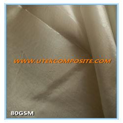 80GSMケイ素の上塗を施してあるガラス繊維の布のガラス繊維