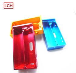 알루미늄 엔드 캡 CNC 기계 가공 선반 파트 CNC 알루미늄 실드