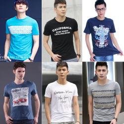 Mann-Mischungs-Art-Shirt-Aktien-Kleid-Aktien (FF626-1)