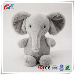 [هيغقوليتي] [كرومبي] رماديّ قطيفة فيل لعبة مع أنف طويلة