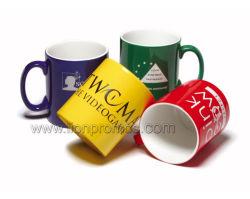 Classic Cafe regalo promocional barato regalo Taza de cerámica de álamo